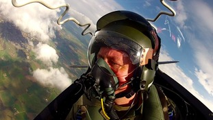 Jon Mitchell takes to the skies with the RAF