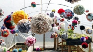 Unusual gardens begin popping up around London