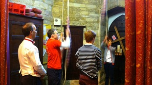 Bell ringing in Leicestershire for The Queen's Diamond Jubilee