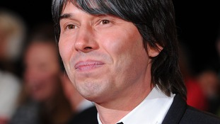 Professor Brian Cox at National Television awards
