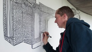 Street artist takes over museum