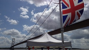 Union flag at Hessle