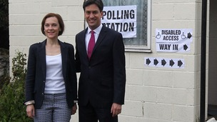 Ed Miliband may privately be disappointed with Labour's showing so far.