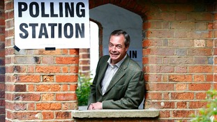 Results have been strong for Nigel Farage outside of London.