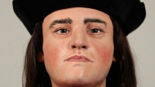 A mock up of Richard III based on research from the Society of Antiquaries