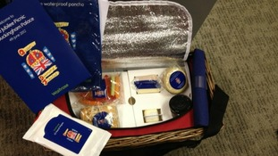 The Jubilee hamper for picnickers at Buckingham Palace