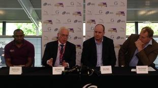 Gateshead Thunder and Newcastle Falcons press conference