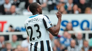 Shola Ameobi is leaving the Magpies.