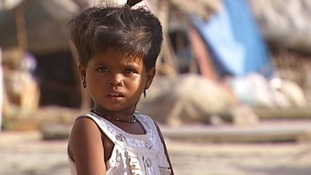 Karachi's poor are at risk of polio.