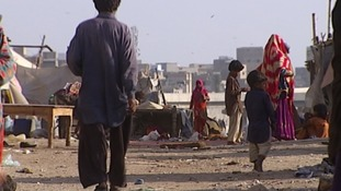 Karachi's poor are also at risk of polio.