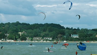 Sandbanks in Dorset