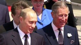 Putin attacks Prince Charles over 'Hitler comments'
