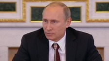 "Vladimir Putin described Prince Charles' reported comments as ""unacceptable""."