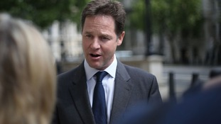Nick Clegg is facing pressure after results in local elections.