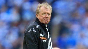 Derby County Head Coach Steve McClaren