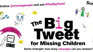 #TheBigTweet: Campaign for missing children gets underway