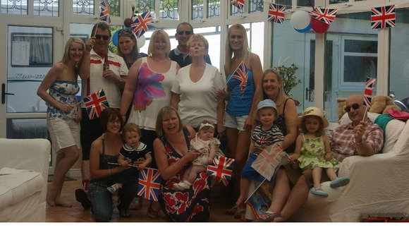 Jubilee Celebrations with family and friends