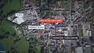 Fakenham town centre