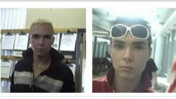 The document shows various pictures of 29-year-old Luka Rocco Magnotta