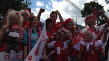 Millers fans at Wembley