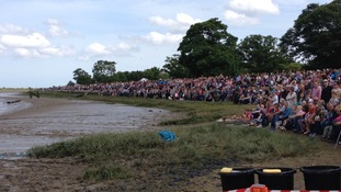 The start of the Maldon Mud Race