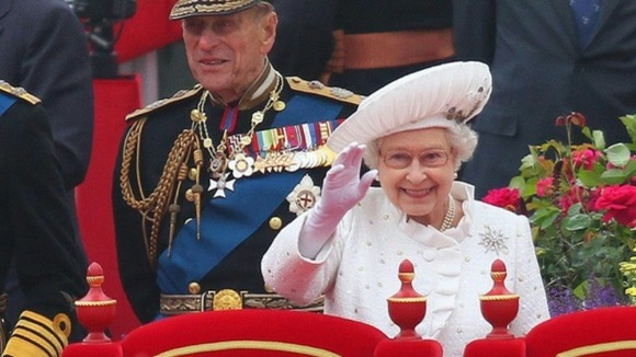 The Duke of Edinburgh took full part in yesterday&#x27;s River Pageant.