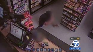 Customers at I.V deli in Isla Vista shown cowering as Elliot Rodger begins shooting.