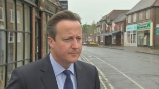 David Cameron said the coalition's work will continue.