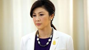 Former Thailand PM Yingluck Shinawatra.