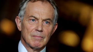 Tony Blair says anti-Europe feeling is not a 21st century solution.