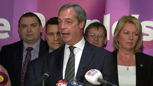 Nigel Farage said the EU debates with Nick Clegg launched his party toward success.