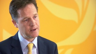 Clegg was speaking after the Lib Dems lost all but one seat in the European elections.