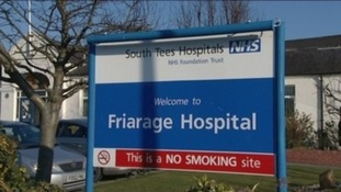 Friarage Hospital in Northallerton