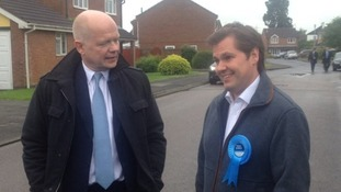 Hague also took the time to chat to local Conservative members