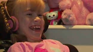 Family of girl with cerebral palsy fundraise for life-changing operation