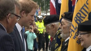 Prince Harry praises people in Suffolk for putting up with Apache helicopter flights