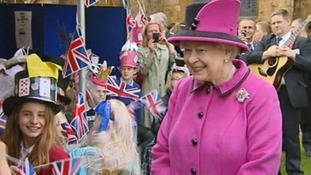 When The Queen visited the Westcountry