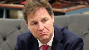 Liberal Democrat leader Nick Clegg.