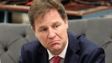 Liberal Democrat leader Nick Clegg.