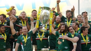 Leicester Tigers lifted the trophy last season.