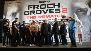 Carl Froch and George Groves.