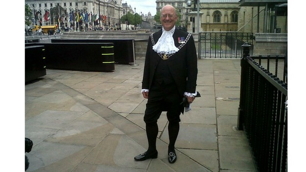 Yeoman Usher of the Black Rod.