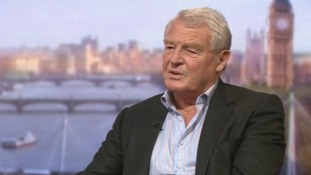 Former Lib Dem leader Paddy Ashdown on The Andrew Marr Show.