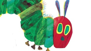 The Very Hungry Caterpillar came fourth on the list.