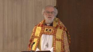The Archbishop of Canterbury.