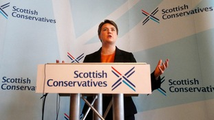 "Scottish Conservative leader Ruth Davidson unveils their ""radical vision"" for Scotland."