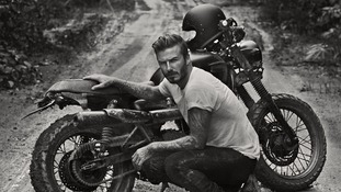 a still from David Beckham's new TV show