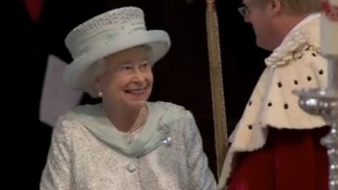 HM the Queen at St Paul's