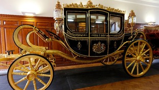 The new Diamond Jubilee state coach will be used for the first time by Queen Elizabeth II during the state opening of Parliament tomorrow.