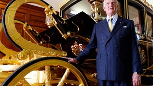Jim Frecklington designed the new Diamond Jubilee state coach in his Australian workshop in Sydney.